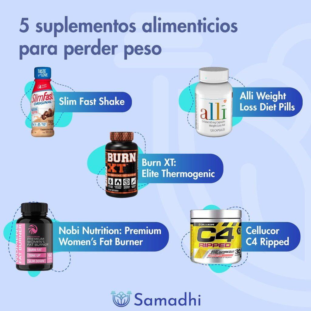 5 suplementos alimenticios
